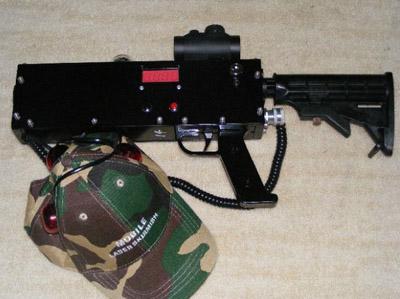 Mobile Laser Skirmish