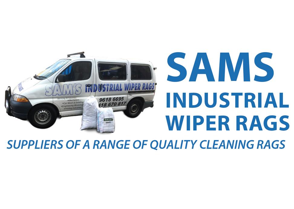 Sam's Industrial Wiper Rags
