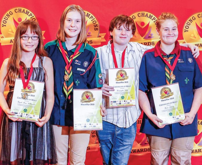 Macarthur's Young Achievers Honoured